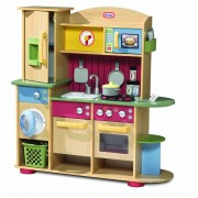 LITTLE TIKES medinė virtuvėlė Mega Deluxe
