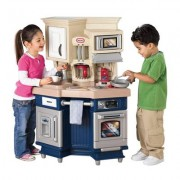 LITTLE TIKES vaikiška virtuvėlė Master Chef Blue su garsais