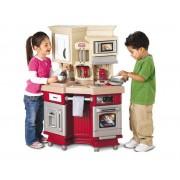 LITTLE TIKES vaikiška virtuvėlė Master Chef Red su garsais