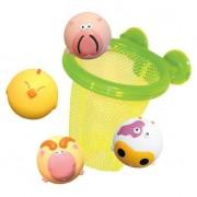 LUDI vonios krepšinis su 3 gyvūnėliais