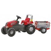ROLLY TOYS JUNIOR RT minamas traktorius su priekaba 3-8 m.