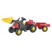ROLLY TOYS KID minamas traktorius su priekaba ir kaušu