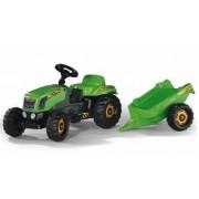 ROLLY TOYS KID minamas traktorius su priekaba