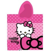 Rankšluostis su gobtuvu - pončo Hello Kitty