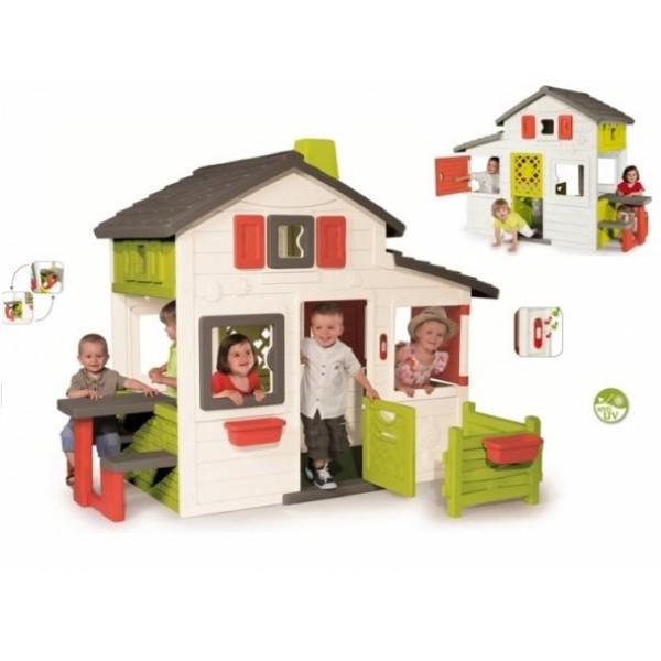 lauko nameliai smoby friends house namelis. Black Bedroom Furniture Sets. Home Design Ideas