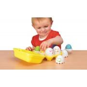 TOMY kiaušinukai Hide 'n Squeak Eggs