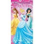 Vaikiškas rankšluostis Princess 70x140 cm.